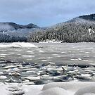 Kanish Bay in winter by VickiOBrien
