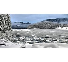Kanish Bay in winter Photographic Print