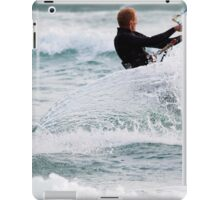 Chute of a Silver Glassy Wake iPad Case/Skin