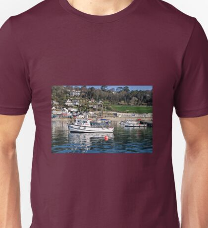 Lyme Regis Harbour 2 - April Unisex T-Shirt