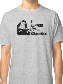 Confessions of Hit Nun Classic T-Shirt