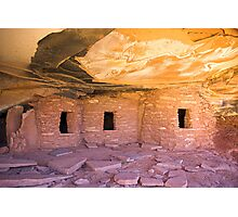 Fallen Roof Ruin, Utah Photographic Print