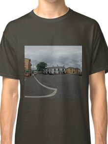 Carrick Crossroads, Donegal(Rectangular)  Classic T-Shirt