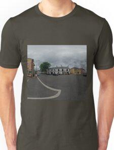 Carrick Crossroads, Donegal(Rectangular)  Unisex T-Shirt