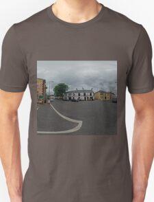 Carrick Crossroads, Donegal(Rectangular)  T-Shirt