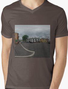 Carrick Crossroads, Donegal(Rectangular)  Mens V-Neck T-Shirt