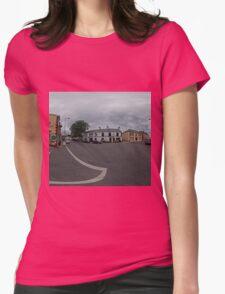 Carrick Crossroads, Donegal(Rectangular)  Womens Fitted T-Shirt