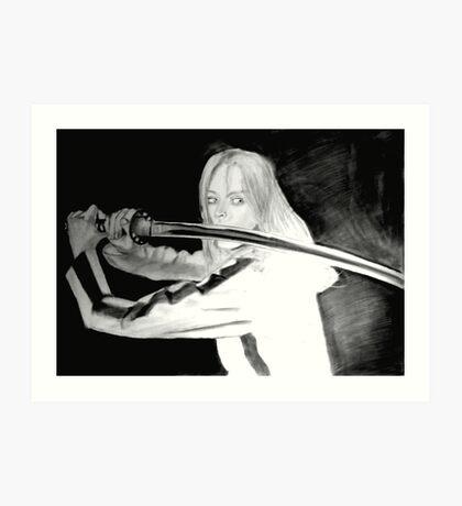 Black Mamba - KILL BILL Art Print