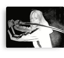 Black Mamba - KILL BILL Canvas Print