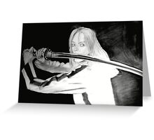 Black Mamba - KILL BILL Greeting Card