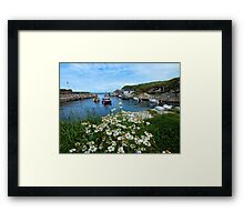 Ballintoy Harbour, Co Antrim, Northern Ireland Framed Print