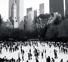 Wollman Rink, Central Park, New York City by Jeff Blanchard