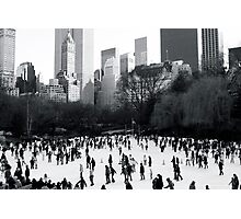 Wollman Rink, Central Park, New York City Photographic Print