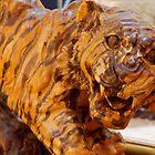 Carvings In Jade - 5 - A Siberian Tiger ©  by © Hany G. Jadaa © Prince John Photography