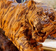 Carvings In Jade - 5 - A Siberian Tiger ©  by © Hany G. Jadaa © Prince John Photography