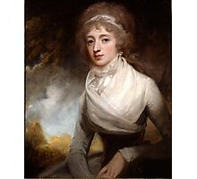 George Romney (1734 -1802) Lady Mary Scott-Montagu, Countess of Courtown, 1793 Photographic Print