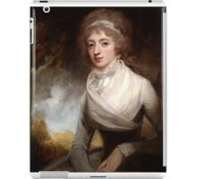 George Romney (1734 -1802) Lady Mary Scott-Montagu, Countess of Courtown, 1793 iPad Case/Skin