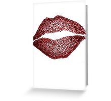 Read My Lips Greeting Card