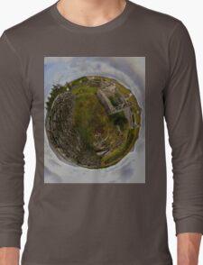 Ruins at Cashelnagor, County Donegal, Ireland Long Sleeve T-Shirt
