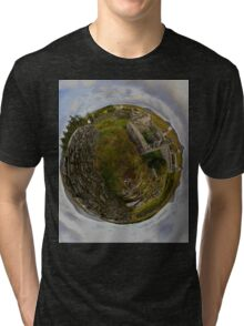 Ruins at Cashelnagor, County Donegal, Ireland Tri-blend T-Shirt