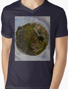 Ruins at Cashelnagor, County Donegal, Ireland Mens V-Neck T-Shirt