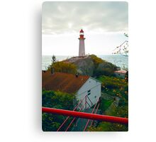 Lighthouse, West Vancouver, BC, Canada Canvas Print