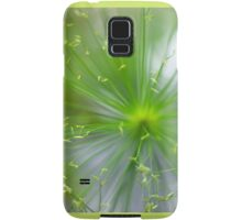 Spikelets of Flowers Samsung Galaxy Case/Skin