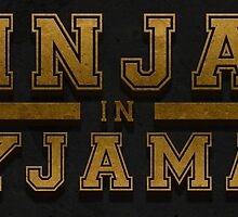 Ninjas in pyjamas gold name by FunnyMouse