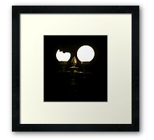Energy saver.  Framed Print