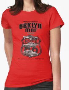 vintage cars Womens Fitted T-Shirt