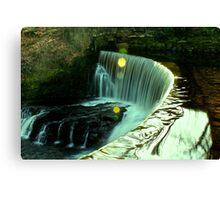 Calder Waterfall, Lochwinnoch Canvas Print