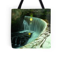 Calder Waterfall, Lochwinnoch Tote Bag
