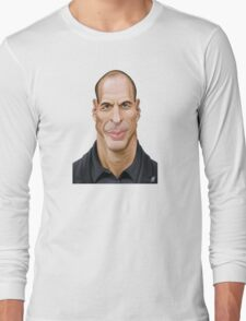 Celebrity Sunday - Yanis Varoufakis Long Sleeve T-Shirt