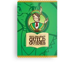 Guildmarm's Guild Guides! Metal Print