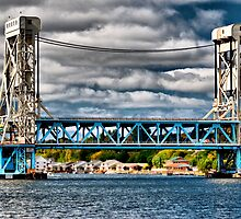 Portage Lake Lift Bridge by Scott Denny