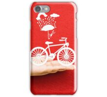 bicycle lovely from hand iPhone Case/Skin