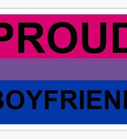 PROUD BOYFRIEND BI Sticker