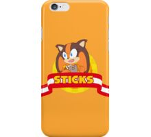 Sonic Boom - Chibi Sticks iPhone Case/Skin
