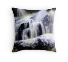 Calder `waterfall, `lochwinnoch Throw Pillow
