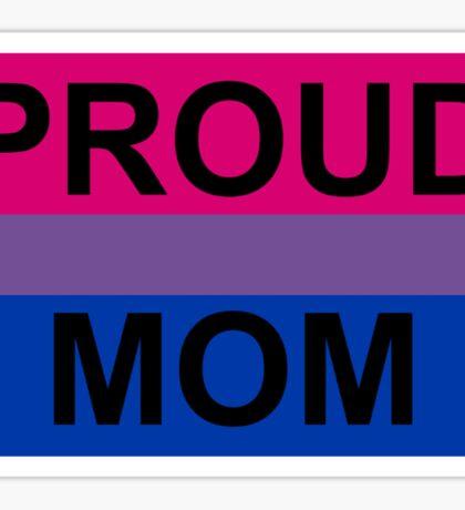 PROUD MOM BI Sticker
