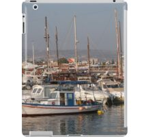 Cypriot Harbour iPad Case/Skin