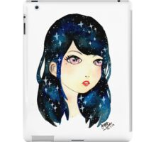 Starry-eyed in space  iPad Case/Skin