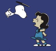 Snoopy kiss Lucy by Silvanust