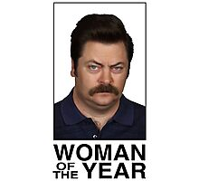 Woman Of The Year Photographic Print