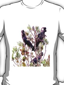 Endangered - Short-billed Black Cockatoo T-Shirt