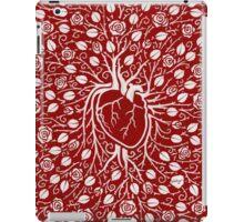 rose vine and human heart iPad Case/Skin