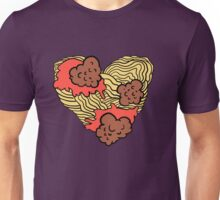 spaghetti lovers only Unisex T-Shirt