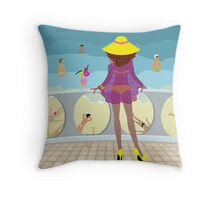 Frustrated Throw Pillow