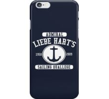 Admiral Liebe Hart's Sailing Quallege iPhone Case/Skin