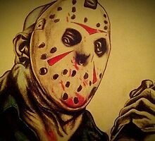 Jason Voorhees by magenandstacy